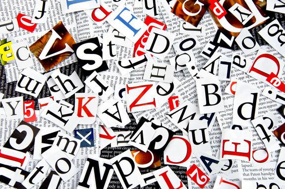 Картинки по запросу вырезаем буквы из журналов