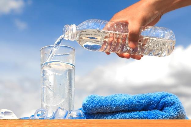 Пить много воды при целлюлите