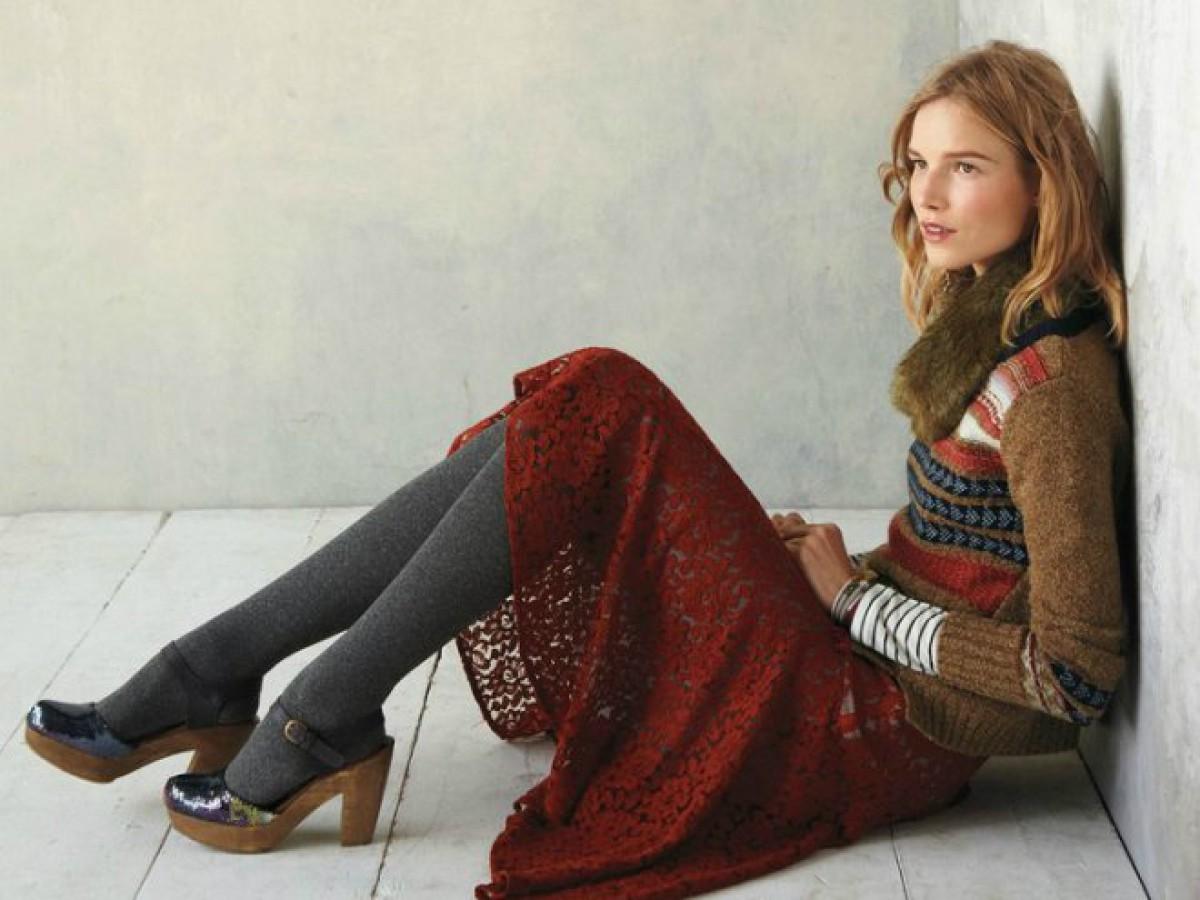 и модно и тепло 10 стильных юбок для холодов