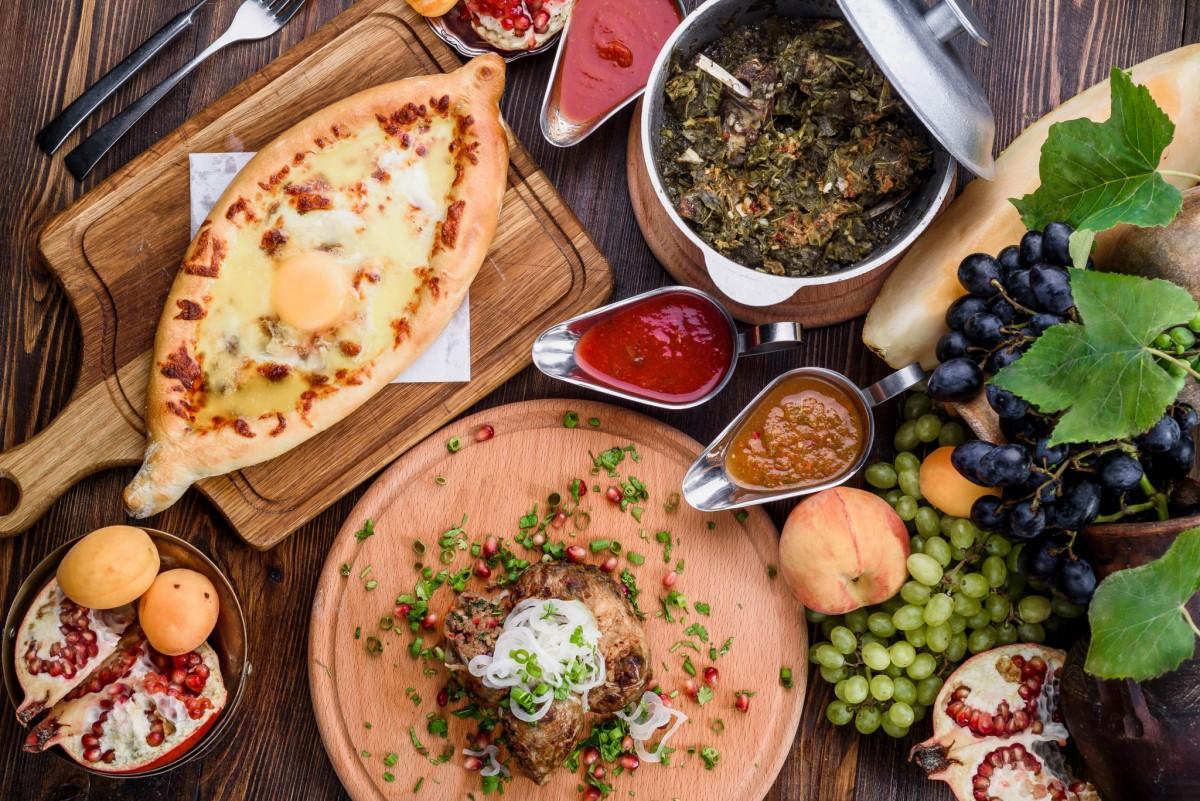 Грузинские блюда на ч