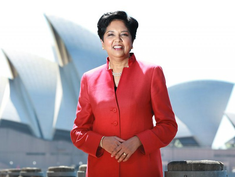 indra nyooi leader Major highlights of indra nooyi's journey defying expectations bringing focus to a conglomerate a career-shaping merger winners have fun and take stock of life  • merger with quaker oats and brought gatorade business to pepsico profits.