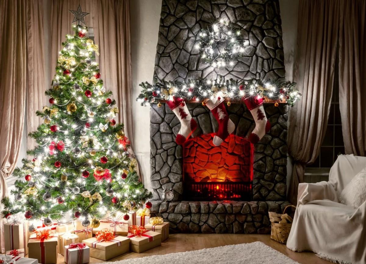 Декор дома на новый год своими руками