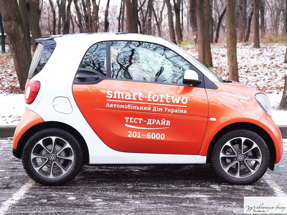 ТЕСТ-ДРАЙВ: smart fortwo coupe turbo -...