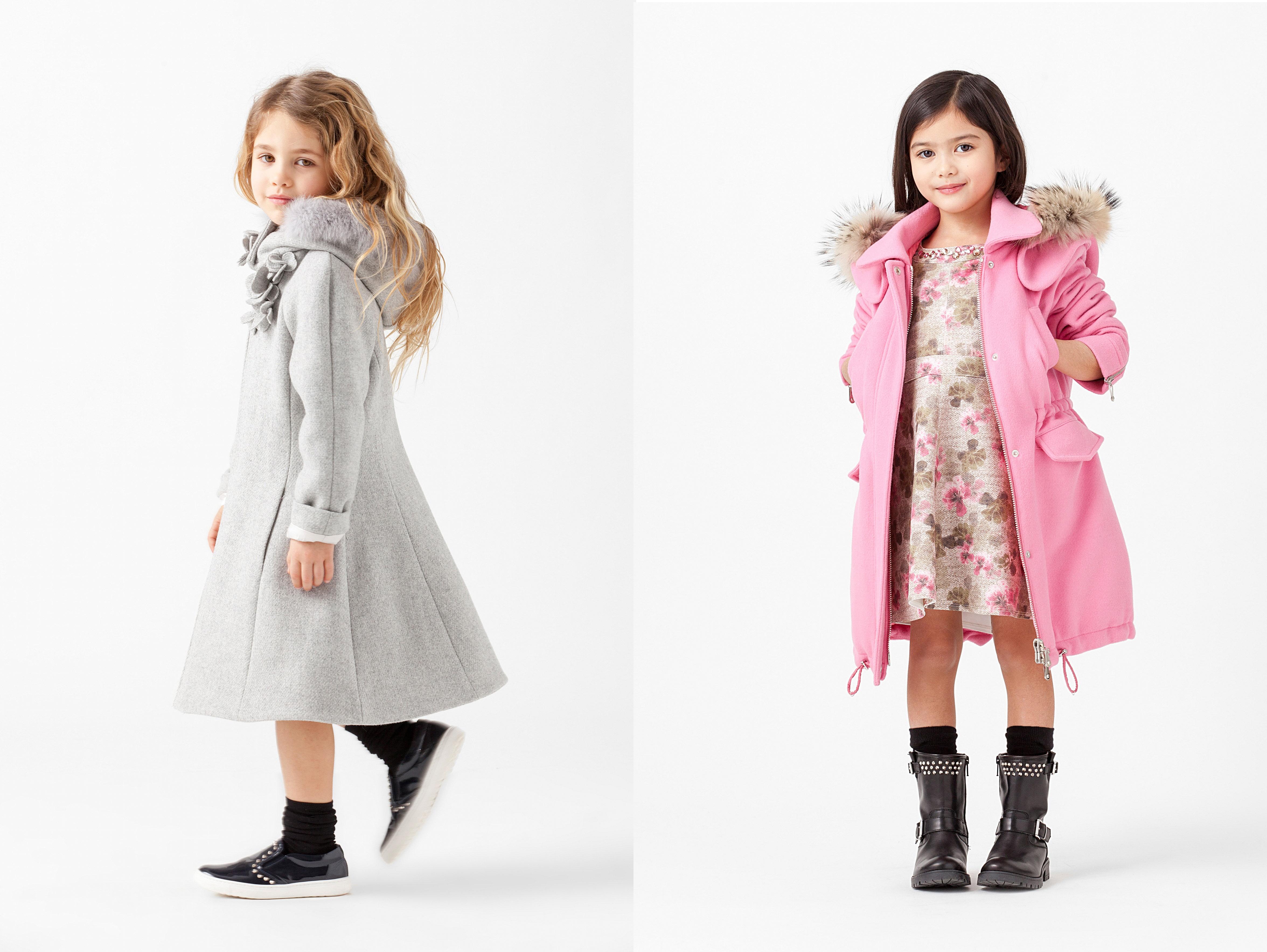 Детская мода для девочек весна-лето 2018 BonaModa 74