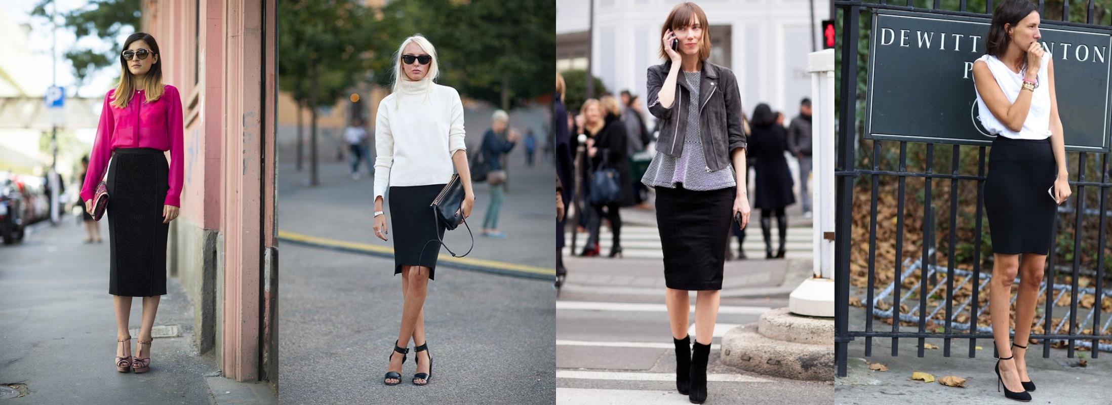 Как носить юбки с плоской подошвой