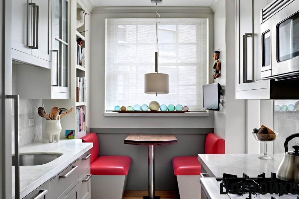 Дизайн маленькой кухни - 75 фото интерьеров, идеи для ремонта