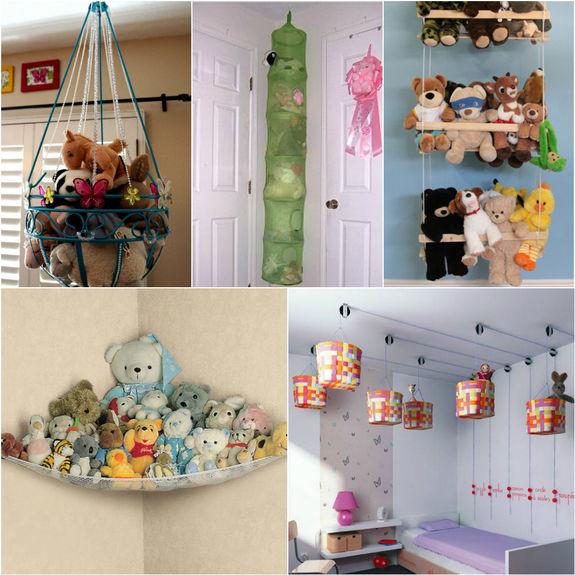 Хранение игрушек в детской своими руками 26