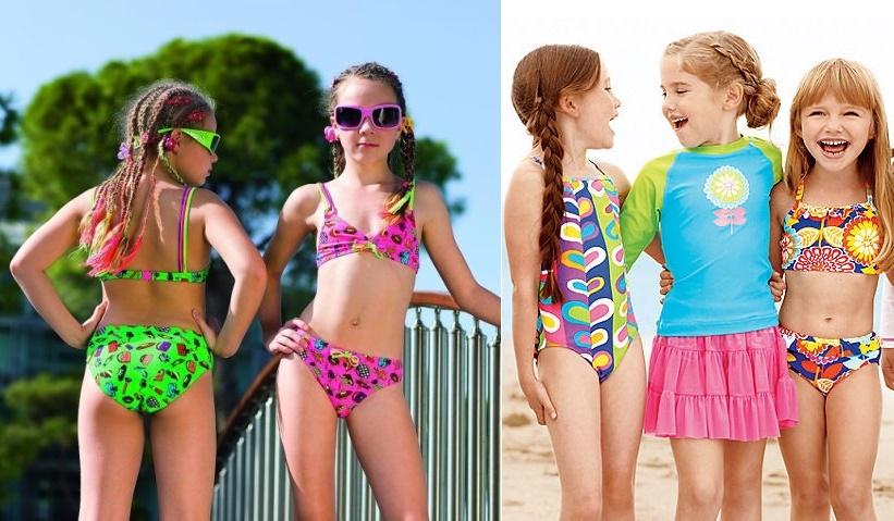 Юные моделм в купальниках в вк