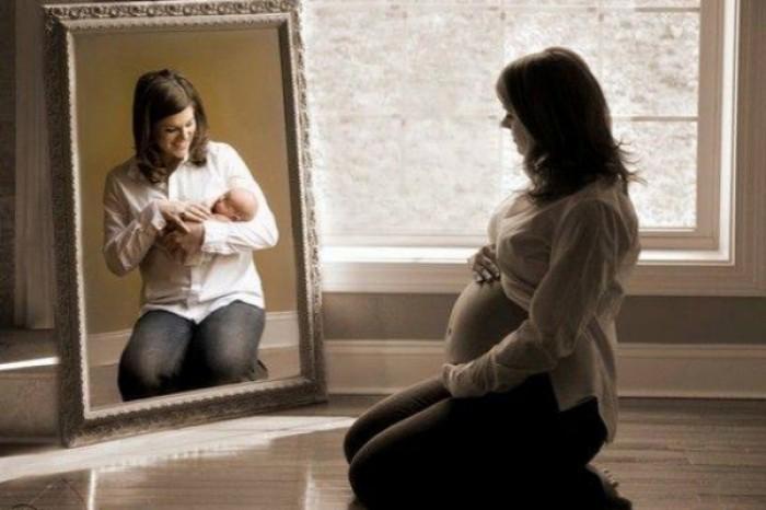 Замужней женщине видеть себя беременной 75